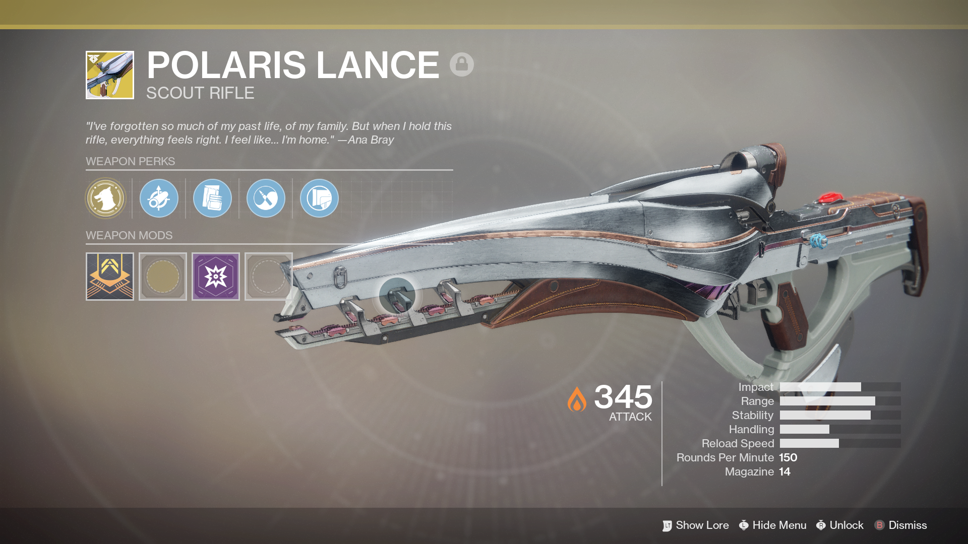 Polaris Lance Exotic